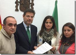 STAJ Almería con Ministro